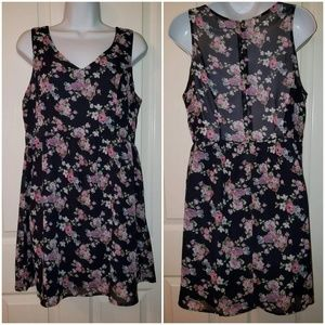 Love Tree Happens floral print dress